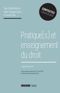 Pratique(s) et enseignement du droit - Lépreuve du réel.pdf