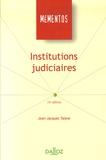 Jean-Jacques Taisne - Institutions judiciaires.