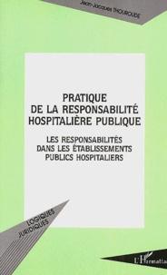 Galabria.be Pratique de la responsabilité hospitalière publique. Les responsabilités dans les établissements publics hospitaliers Image
