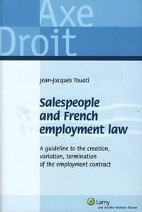 Jean-Jacques Touati - Salespeople and French employment law.