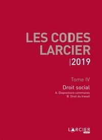 Jean-Jacques Willems - Droit social - 2 volumes.
