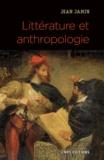 Jean Jamin - Littérature et anthropologie.
