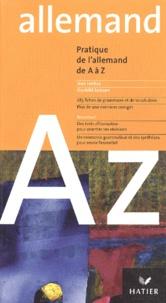 Jean Janitza et Gunhild Samson - Pratique de l'allemand de A à Z.
