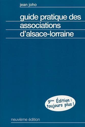 Jean Joho - Guide pratique des associations d'Alsace-Lorraine.