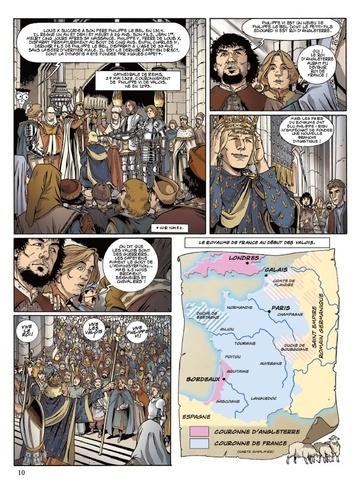 L'histoire de France pour les nuls en BD Intégrale 2 De la guerre de Cent Ans à la veille de la Révolution !