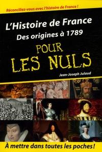 Goodtastepolice.fr L'Histoire de France pour les nuls - Volume 1, Des origines à 1789 Image