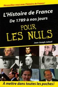 Era-circus.be L'Histoire de France pour les nuls - Volume 2, De 1789 à nos jours Image
