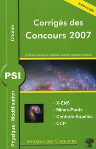 Galabria.be Physique, Modélisation et chimie PSI Image