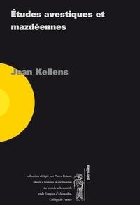 Jean Kellens - Études avestiques et mazdéennes. Lot 6 volumes.
