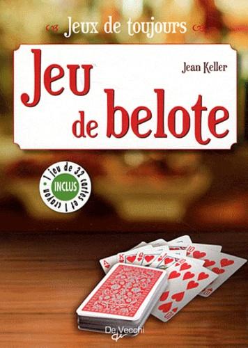 Jean Keller - Jeu de belote. 1 Jeu