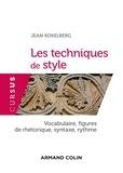 Jean Kokelberg - Les techniques de style - Vocabulaire, figures de rhétorique, syntaxe, rythme.