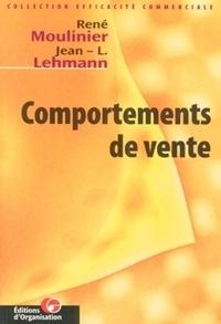 Jean-L Lehmann et René Moulinier - Comportements de vente.