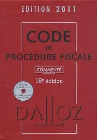 Jean Lamarque - Code de procédure fiscale 2011. 1 Cédérom