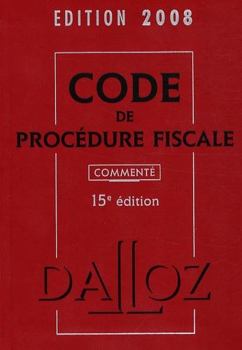 Jean Lamarque - Code de procédure fiscale commenté.