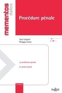 Jean Larguier et Philippe Conte - Procédure pénale.