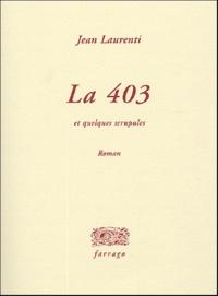 Jean Laurenti - La 403 - Et quelques scrupules.
