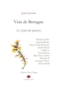 Jean Lavoué - Voix de Bretagne - Le chant des pauvres.