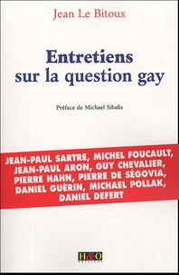 Jean Le Bitoux - Entretiens sur la question gay.