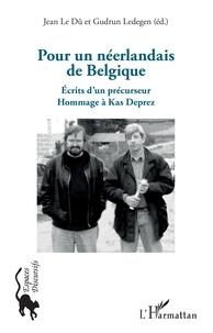 Ucareoutplacement.be Pour un néerlandais de Belgique - Ecrits d'un précurseur - Hommage à Kas Deprez Image
