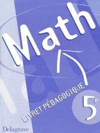 Deedr.fr MATHS 5EME. - Livret pédagogique Image