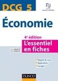 Jean Longatte et Pascal Vanhove - DCG 5 Economie - 4e éd. - L'essentiel en fiches.