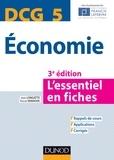 Jean Longatte et Pascal Vanhove - DCG 5 Economie.