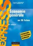Jean Longatte et Pascal Vanhove - Économie générale en 36 fiches.