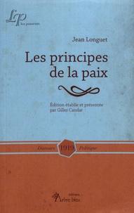 Jean Longuet - Les principes de la paix.