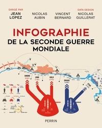 Jean Lopez et Nicolas Aubin - Infographie de la Seconde Guerre mondiale.