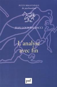 Jean-Louis Baldacci - L'analyse avec fin.