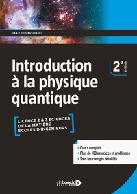 Jean-Louis Basdevant - Introduction à la physique quantique.