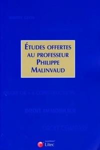 Jean-Louis Baudouin et Alain Bénabent - Etudes offertes au professeur Phillipe Malinvaud.