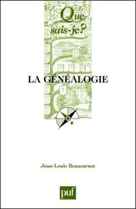 Jean-Louis Beaucarnot - La généalogie.
