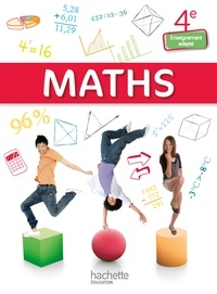 Jean-Louis Berducou et Alexandra Do Vale - Maths 4e enseignement adapté.