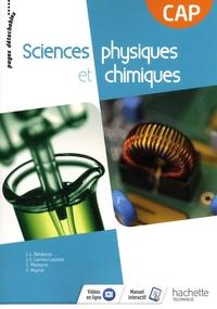 Jean-Louis Berducou et Jean-Claude Larrieu-Lacoste - Sciences physiques et chimiques CAP.