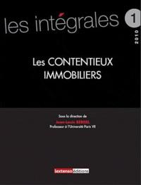 Jean-Louis Bergel - Les contentieux immobiliers.