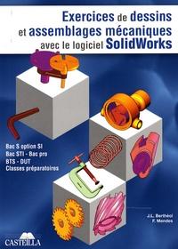Ucareoutplacement.be Exercices de dessins de pièces et d'assemblages mécaniques avec le logiciel SolidWorks Image