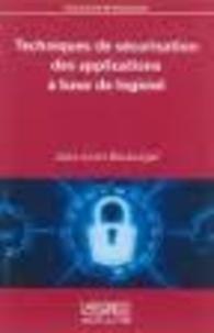 Jean-Louis Boulanger - Techniques de sécurisation des applications à base de logiciel.