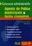 Jean-Louis Boursin - Agents de Police municipale & Gardes champêtres.