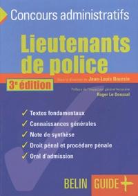 Jean-Louis Boursin - Lieutenants de police : le concours.