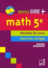 Jean-Louis Boursin et Edmond Augier - Math 5e - Résumés de cours Exercices corrigés.