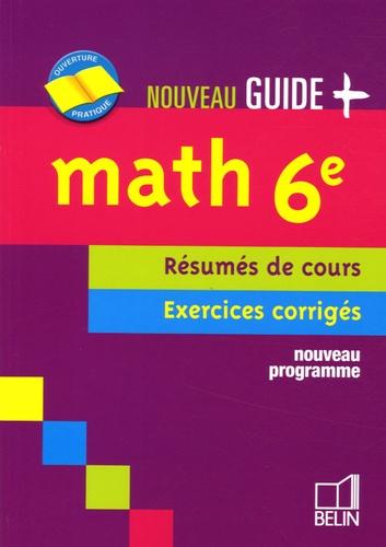 Jean-Louis Boursin - Math 6e - Résumés de cours - Exercices corrigés.