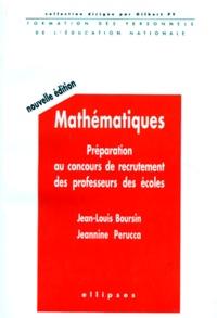 Jean-Louis Boursin et Jeannine Perucca - .