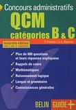 Jean-Louis Boursin et Françoise Finniss - QCM Concours administratifs Catégories B & C.