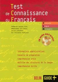 Jean-Louis Boursin - Test de connaissance du français. 1 CD audio MP3
