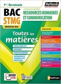 Jean-Louis Carnat et Adrien David - Ressources humaines et communication 1re/Terminale STMG - Toutes les matières.