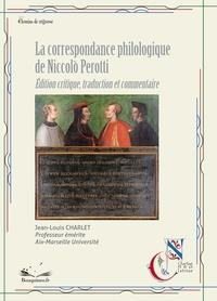 Jean-Louis Charlet - La correspondance philologique.