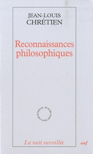 Jean-Louis Chrétien - Reconnaissance philosophiques.