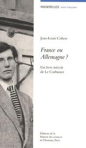 France ou Allemagne ? - Un livre inédit de Le Corbusier.pdf