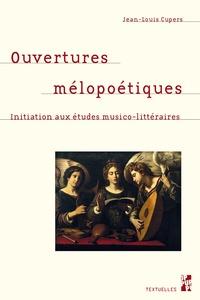 Openwetlab.it Ouvertures mélopoétiques - Initiation aux études musico-littéraires Image